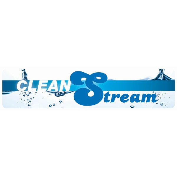 CleanStream Display Sign