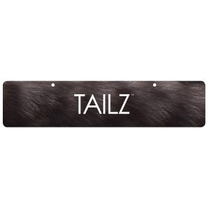 Cap off your Tailz display with an attractive and functional planogram banner. Printed on heavy cardstock