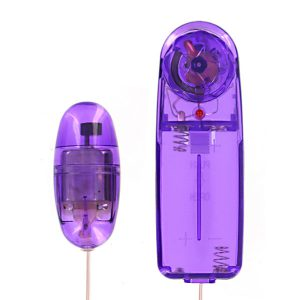 Enjoy the intense multi-speed vibrations of this sleek little bullet vibe The Super-Charged Purple Bullet delivers a lot of intensity in a compact vibe. The corded remote allows you to easily take the vibrations from slow and steady to downright mind-blowing The smooth bullet is excellent at stimulating sensitive areas such as the clit