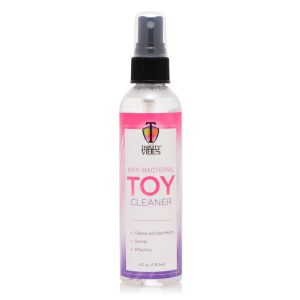 Keep your favorite pleasure products clean and safe with this anti-bacterial spray-on cleanser. Our unique cleansing agent gently cleans and disinfects surface bacteria