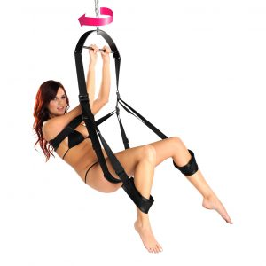 Swing into action with The Trinity 360 Spinning Sex Swing. The variety of positions that can be enjoyed with this swing will definitely help spice up your love life