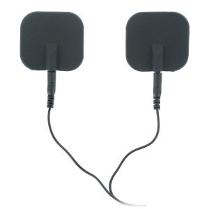 Now you can enjoy Zeus Premium Silicone Electro Pads in sexy black These high quality electro-stimulation pads have great conductive qualities and lower resistance than most pads. Compatible with all Zeus power units. Measurements: Pads are 1.75 inches square