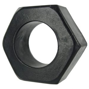 Tighten up your tool with this HexNut Cock Ring The super stretchy material allows it to be used as a simple cock ring