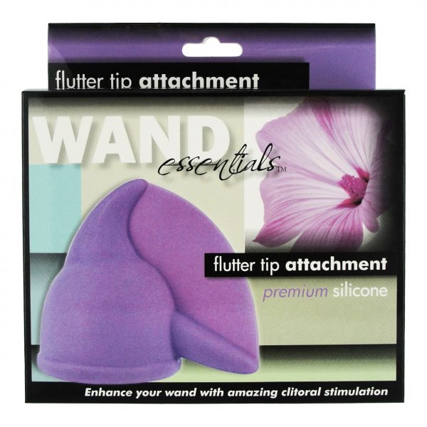 The Flutter Tip enhances your wand massager by turning it into a tickling