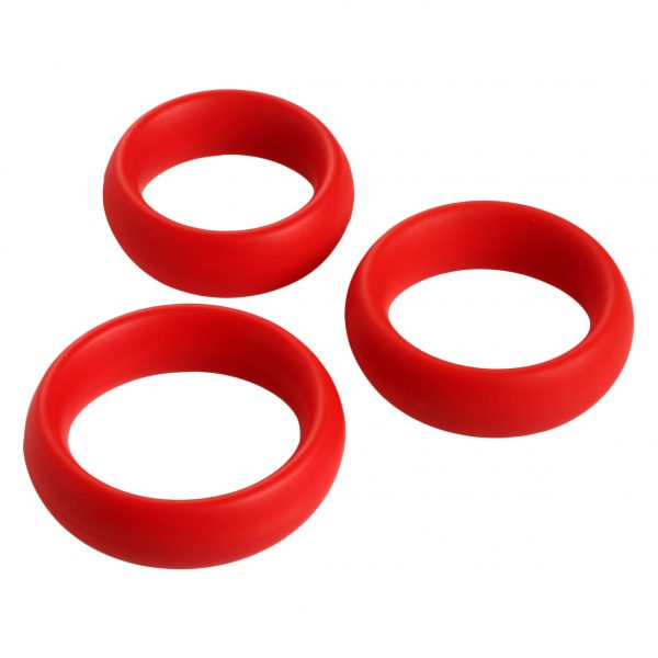 Want to pound your partner like a porn star? This set of 3 silicone cock rings is perfect for making the most of your manhood By regulating blood flow