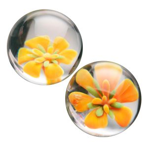 These blooming ben wa balls are ideal for exercising Kegel muscles for more control and sexual sensation