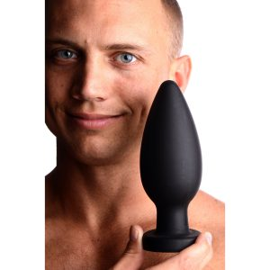 Fill them up with this colossal XXL Anal Plug from Master Series. Made of premium silicone