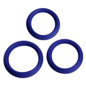 This set of 3 different sized silicone cock rings is perfect for making the most out of your erection while also enhancing it. By regulating blood flow