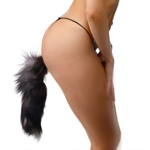 Take a walk on the wild side and get in touch with your inner animal with this ultra-sexy fox tail anal plug. The semi-flexible anal plug is slender enough for a beginner