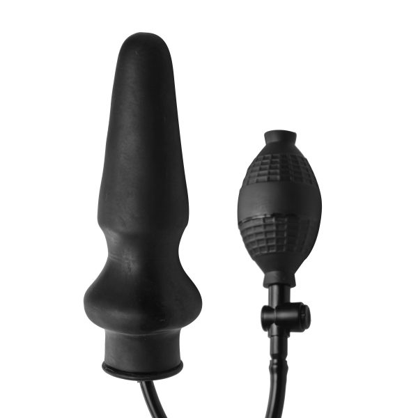 Take ass play to the next level with the Expand XL Inflatable Anal Plug. This impressive plug expands inside the anus