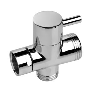 The CleanStream Diverter Switch allows you to control the flow of water to your cleansing hose and shower head with a simple flip of a switch. Installs easily