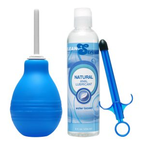 Get cleaned out and ready for action with this classic and easy to use cleansing system. The flush bulb has a thin