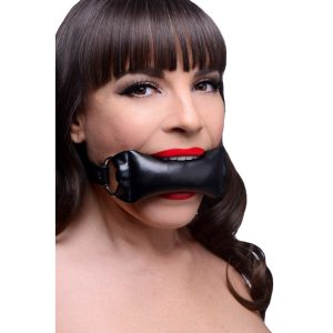 Bite down on this pillow and muffle your cries of pain and ecstasy This padded gag is perfect for those who like to clench their teeth