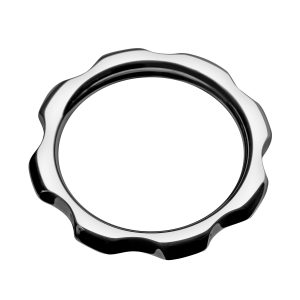 Put this gear on your shaft and rev your motor until you red line This smooth cock ring features an attractive design