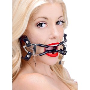 This high quality medical device is used by dentists and doctors to keep the mouths of their patients open during procedures. The hinge has a ratcheting feature that securely holds the gag open once you set it into place. Just press the lever to easily close the gag. A twist on our classic Jennings Gag