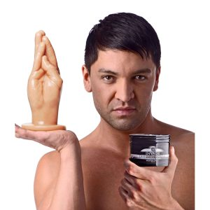 Expand upon your anal explorations with the next level of large insertion This kit contains a life-size replica of a human hand and 8 ounces of Invade Fisting Cream to achieve the ultimate penetration. For your intro to fisting