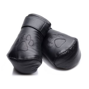 Give your canine some comfortable paws to crawl around with These leather mitts are the perfect addition to your puppy play scenes Push their fists into the luxurious padded interior