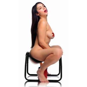Attach your favorite dildo and this sex stool will give you the ride of your life The Bangin Bench allows you to simulate sex from the top as you bounce up and down