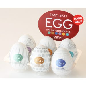 Different Strokes from Different Yolks The TENGA EGG Series may look small