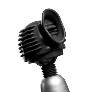 How long can you withstand the ecstasy when you combine your powerful massage wand with this attachment? Indulge yourself