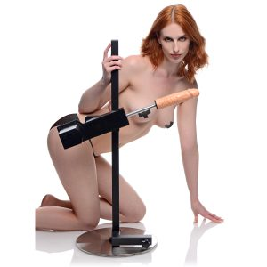 Create your ultimate BDSM and sex station with this versatile sex machine The Dicktator provides pounding