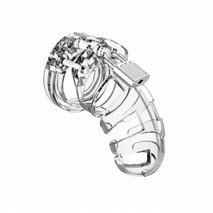 The Man Cage Chastity Cages are manufactured from high-grade polycarbonate