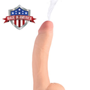 This 9 inch beauty wants to bust a nut. Get ready for Loadz of squirting fun This ultra lifelike dildo features a dual-density material that looks and feels just like the real thing. Enjoy every vein