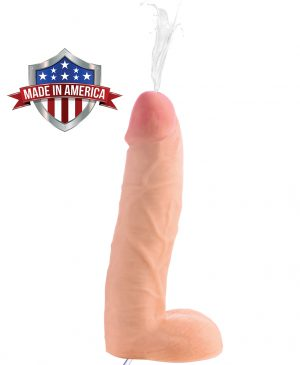 This 10 incher will fill you to the brim. Get ready for Loadz of squirting fun This ultra lifelike dildo features a dual-density material that looks and feels just like the real thing. Enjoy every vein