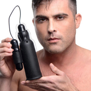 Make masturbation even better with a stroker sleeve that treats you to both pleasure textures and intense vibration This silicone male sex toy features a premium quality sleeve that is textured on the outside for a secure grip and contains dozens of soft