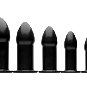 Go from backdoor beginner to advanced anal enthusiast with this set of 5 hollow