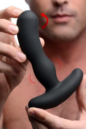 This premium prostate massager uses innovative technology and high-grade materials to give you the backdoor bliss that you have been craving. Experience powerful vibration in your anus and against your perineum with 3 speeds and 4 functions to play with. Possible even better
