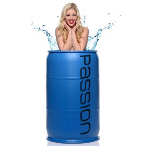With 55 gallons of water-based lubricant