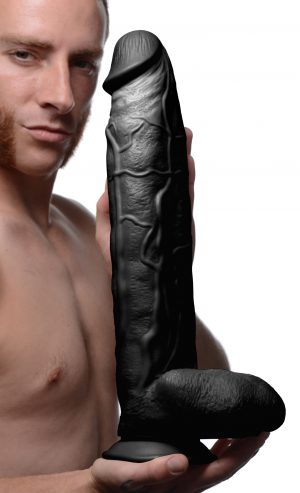 Boasting over 13 inches of insertable length and up to 3.5 inches of insertable diameter