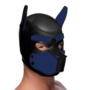 Transform into your K9 alter ego with the perfect puppy hood. Made of super soft and stretchy neoprene