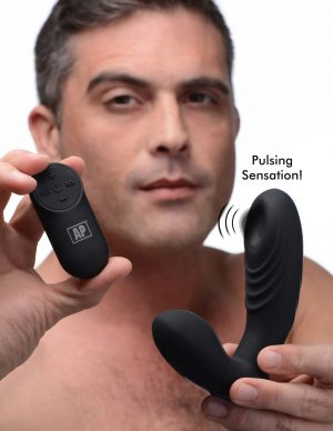 The ultimate prostate stimulating machine! Easily position this vibe to target your P-spot with powerful