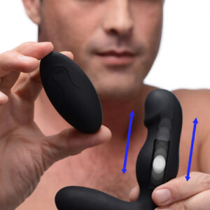 Thump your ass and buzz your perineum with this cutting edge anal plug from Thump Its! Please and pleasure your prostate with cutting edge Kinetic Technology - embrace the rhythmic thumping pleasure from this velvety shaft