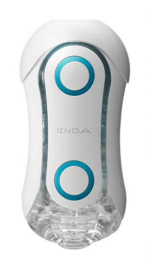 Get swept up in the rush of bounding blue orbs and wavy ridges found inside the Blue Rush Tenga Flip! The stimulation orbs are suspended in the softness of elastomer and provide a solid round texture for your member to rub against during use.  Thrust yourself through the undulating waves that weave between each orb!  The hourglass shape and ergonomic design makes this masturbation device easy to use – the outer pressure pads allow for direct control so you can find the prefect squeeze and sensation