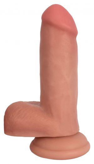 This ultra-lifelike dildo is soft