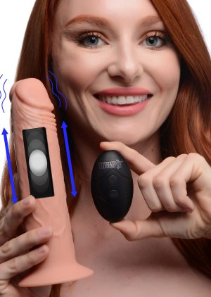 Featuring realistic details for a genuine feel in your hands and your holes! This realistic dong features Thump It Kinetic Technology