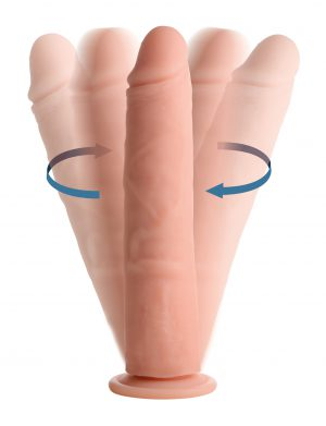 The Big Shot rotating and vibrating dildos are designed to swirl within your hole