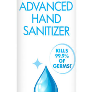 Keep things clean with this 75 Percent Alcohol liquid hand sanitizer! This 8 ounce bottle is perfect for use at home – store a bottle in high traffic areas like the kitchen