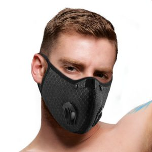 Stay safe while staying fashionable with this Black Fashion Face Mask! Adjustable at the nose for a more secure and comfortable fit with the nose bridge clip