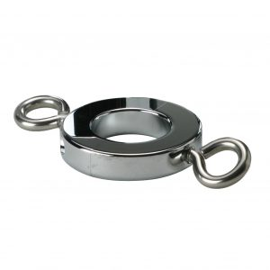 Our most popular ball stretchers are designed to perfectly to fit around the scrotum and provide the user with the ultimate stretch. These stretchers are made from chrome plated brass and feature some unique features that make these a best buy Features: