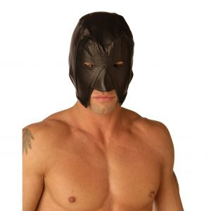 Keep your identity a secret when punishing your sub with the Strict Leather Executioners Hood. Made to replicate medieval style