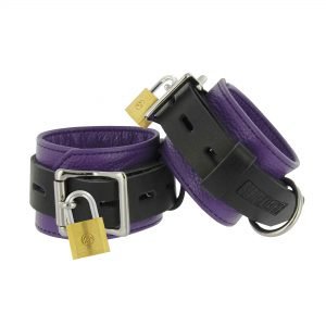 These Deluxe Locking Cuffs offer unparalleled comfort and security to give you and your partner the best possible bondage experience Made from high-quality