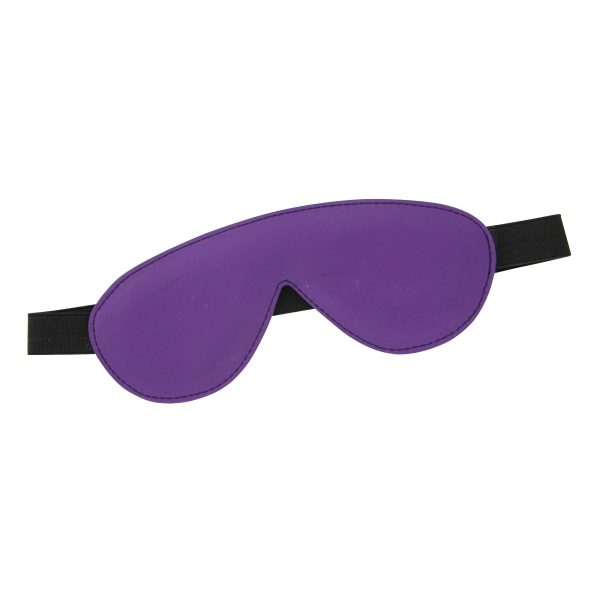 This sexy blindfold is the perfect accessory to add a little adventure to the bedroom Secured with an elastic band