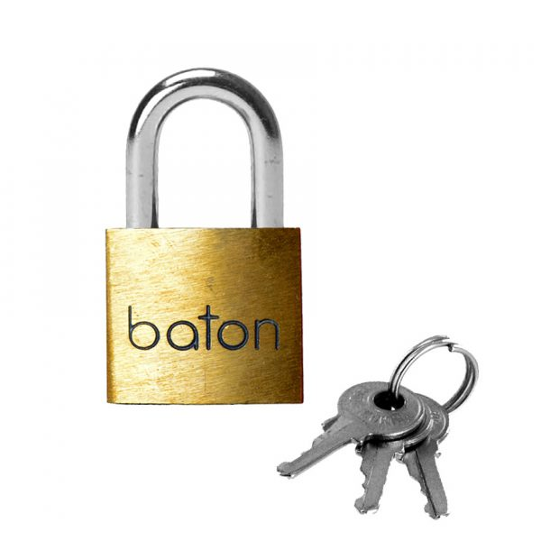 Similar to the Master Lock version but priced more affordably. All locks are keyed alike so no more fumbling for the right set of keys. This is a 1/4 inch lock and fits all our locking restraints.