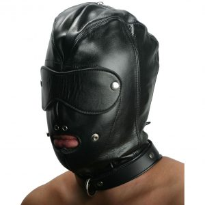The Strict Leather Premium Locking Slave Hood is our premium locking slave hood. This hood has two unique features