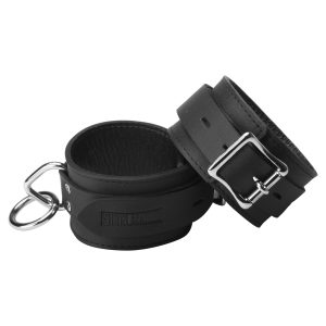 The Strict Leather Standard Leather Locking Cuffs are great for those wanting to experiment with bondage. They are affordable and yet still offer a high level of quality. They are durable