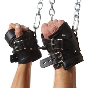 Suspend them in style and comfort with these Strict Leather Premium Suspension Wrist Cuffs Made to be strong and durable